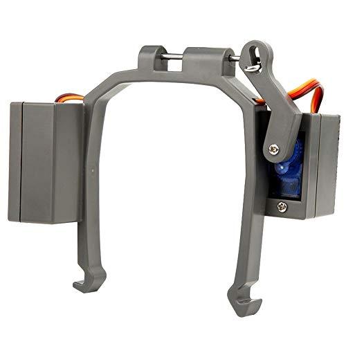 dgtrhted Drohne Luftwerfer for D-J-I M-a-v-i-c 2 Werbung Geschenk Lieferung Fischwerfer mit Fußständer (grau)