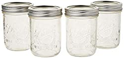 Wide Mouth Mason Jars 16oz