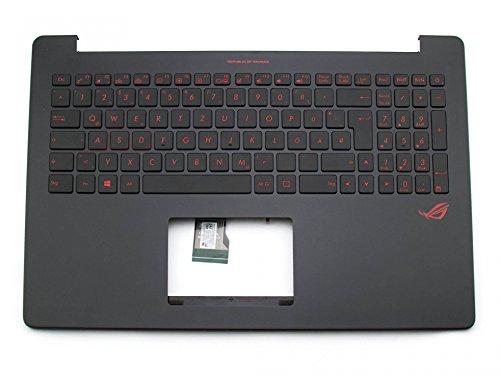 ASUS ROG G501JW Original Tastatur inkl. Topcase DE (deutsch) schwarz/schwarz mit Backlight