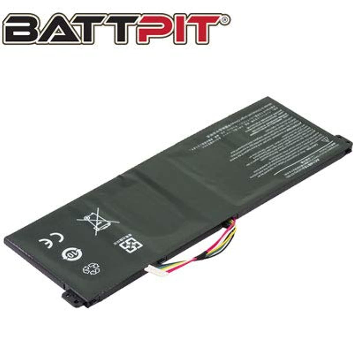 Battpit? Laptop/Notebook Battery Replacement for Acer Chromebook CB3-532-C47C (2200mAh / 25Wh)