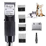 Cortapelos Eléctricos para Mascotas 30W,Afeitadora para Mascotas,Peluquería Profesional para Perros Cortadoras Eléctricas Afeitadora De Pieles De Bajo Ruido Kit De Aseo con Cable De 2.8M