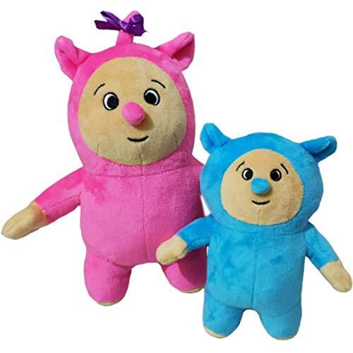 Portonss 2 Piezas de Juguetes de Peluche Billy y Bam Bam de 20~28 cm, muñecos de Peluche Suaves, Regalos para niños, Regalos de cumpleaños con Almohadas de Peluche
