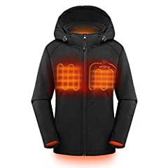 STYLISH DESIGN WITH BREATHABLE FABRIC: Soft shell fabric exterior and breathable linning ensures you don't lose any excess heat and enjoy comfortable warmth; Detachable hood is specially designed for chilly mornings and extra protection on windy days...
