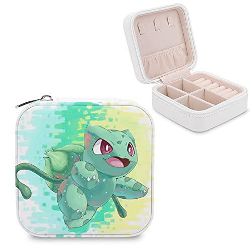 Bulbasaur CuteJewelry - Caja de almacenamiento para joyas con compartimento para la gestión del hogar, viajes, pendientes de regalo, collar de moda
