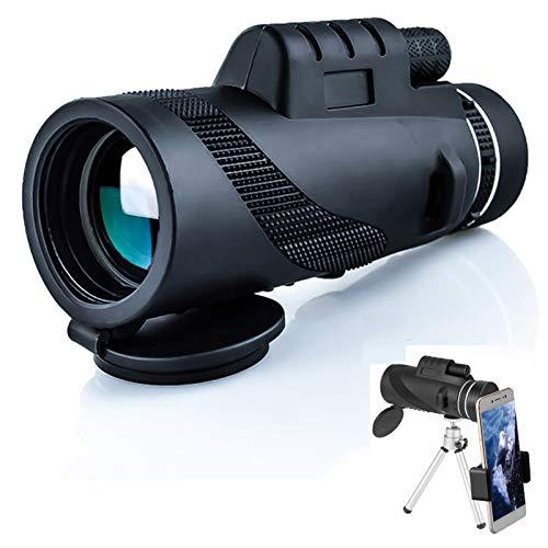 Telescopio monocular de Alta definición, telescopio de Zoom Impermeable de la visión Nocturna del trípode, para observar Aves de Caza de la Vida Silvestre