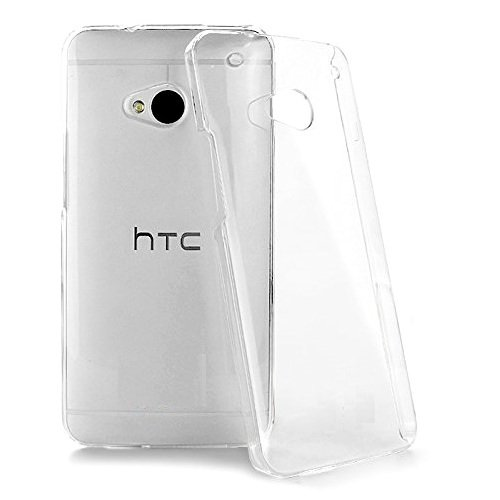 2010KHARDIO AE Crystal Clear Transparent Hard Back Case Cover for HTC One M7