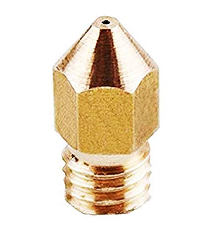 Nozzle Accuracy 0.3mm For 1.75mm Filament Suitable For 3D Printers