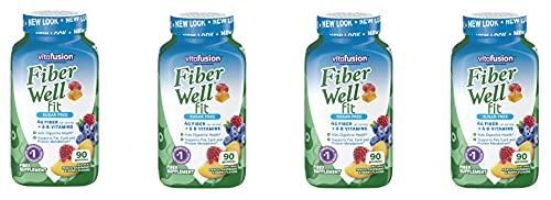 VitaFusion Fiber Well Fit, 90 Sugar-Free Gummies...