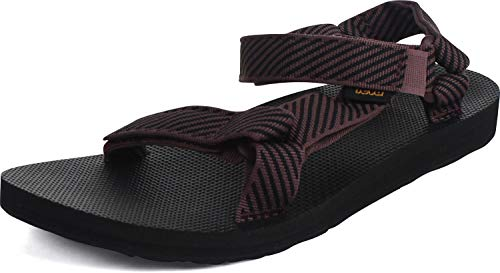 Teva New Women's Original Universal Sandal Candy Stripe Vineyard Wine 8
