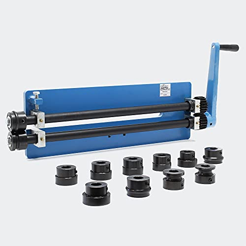 Biegemaschine Sickenmaschine zur Blechbearbeitung mit Profilrollen zur Herstellung von Sicken biegen