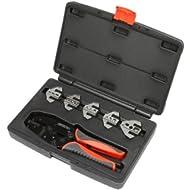 Pertronix (T3001) Quick Change 6-Piece Ratchet Crimp Tool Kit
