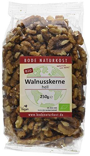 Bode Walnusskerne hell 250g Bio Nüsse, 1er Pack (1 x 250 g)