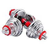 YC Hanteln Dumbbell Fitness Hanteln 20KG EIN Paar for Hanteln Hanteln Hanteln Gewicht Set Plating...