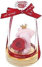 プリザーブドフラワー SWEET BEAR(レッド) 母の日 父の日 敬老の日 クリスマス 誕生日 記念日 お祝い プレゼント ギフト お見舞い 女性 贈り物