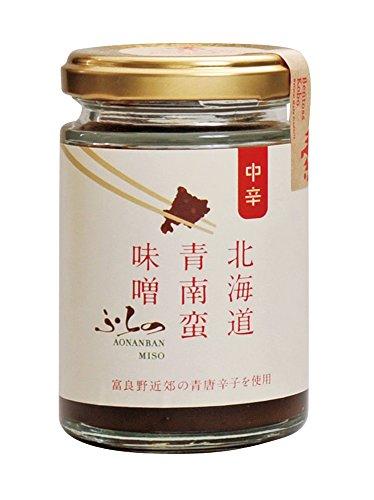 アイチフーズ 北海道 ふらの青南蛮味噌(中辛) 125g
