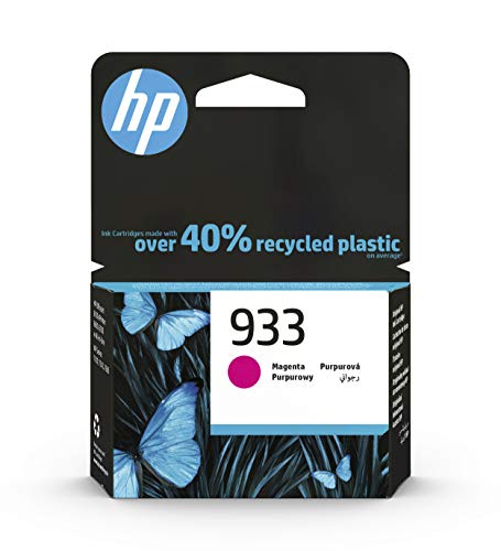 HP 933 CN058AE, Magenta, Cartucho Original, de 330 páginas, para impresoras HP OfficeJet 6100, 7610 e 7612; HP OfficeJet 6600, 6700, 7110 e 7510