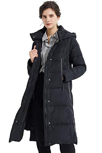 Orolay Mujer Abrigo Largo Cálido Chaqueta de Invierno con Capucha