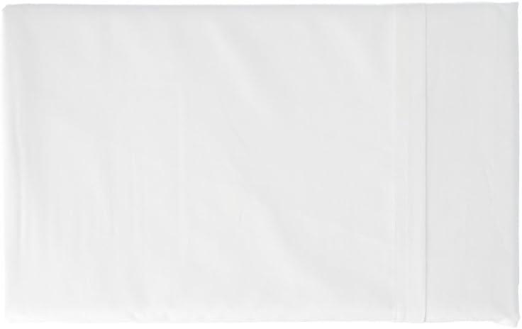 Gabel de más Color y Benessere sábana, percal, Color Blanco, A una Plaza y Media, 290x 180x 0.3cm
