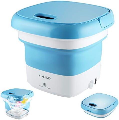 Portable Mini Washing Machine for Clothes Folding Automatic Laundry Machine Lightweight Washer product image