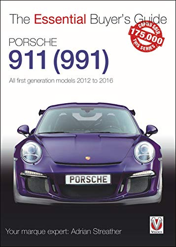 Compare Textbook Prices for Porsche 911 991: All first generation models 2012 to 2016 Essential Buyer's Guide  ISBN 9781787116344 by Streather, Adrian