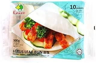 Bao Bun, Lotus Leaf Frozen - 10 Count (Pack of 12)