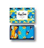 Happy Socks Gemischt farbenfrohe Geschenkbox an Baumwollsocken für Männer und Frauen,...