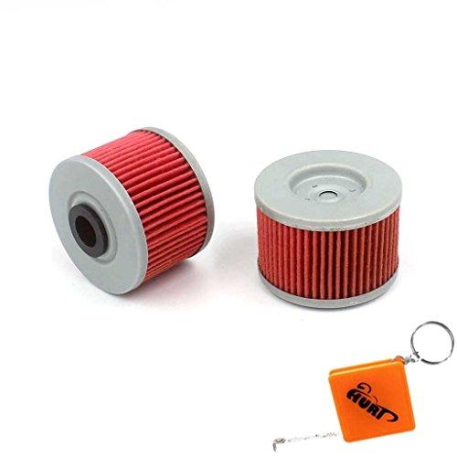 HURI 2X Ölfilter passend für NX 650 Dominator 1990-2000 Ersetze Hiflo HF112 / K&N KN112