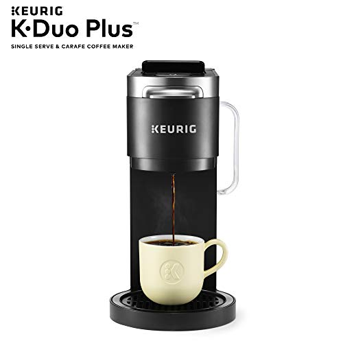 Keurig K Duo Plus Coffee Maker Single Serve K Cup Pod And 12 Cup Carafe Brewer With Keurig Station K Cup Pod Ground Coffee Storage Unit Black Buy Online In United Arab Emirates At