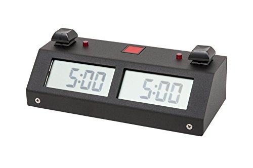 Chronos GX Digital Game Chess Clock - Button - Black