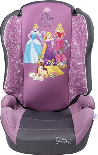 Disney 10287, Seggiolino Auto Principesse Gruppo 2-3 (Da 15 a 36 Kg) Cenerentola, Bambine e Ragazze, Rosa