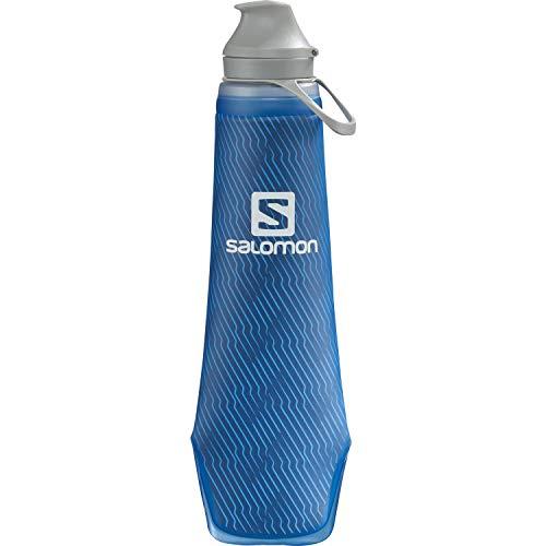 Salomon Soft Flask 400/13 Insul 42 Isolierte Trinkflasche 400 ml Mit Ventil Mit Hoher Durchflussrate Und Großer 42-mm-Öffnung Für Trailrunning