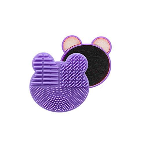 ARTIFUN Nettoyant de Pinceau de Maquillage Sec Éponge de Nettoyage Rapide Makeup Brush Cleaner Éponge de Suppression de Couleur Enlève le Poudre de Votre Pinceau sans Eau ni Solutions Chimiques