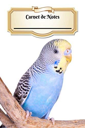Carnet De Notes: Perruche ondulée | Oiseau | A5 139 Pages Avec Papier Pointillé | Bullet Journal | Art Notes | Cahier | Dotted Journal | Notebook | Espace pour votre nom, classe, cours