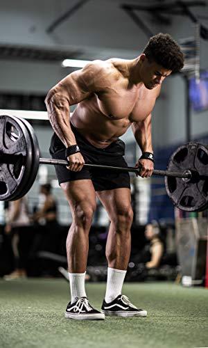 Profi Zughilfen (gepolstert) für Krafttraining, Bodybuilding, Gewichtheben & Fitness – für Damen und Herren – von Fitgriff - 5