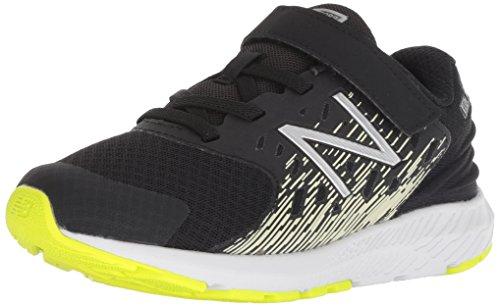 New Balance Boys' Urge V2 FuelCore Running Shoe, Black, 4 M US Toddler