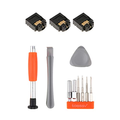 B Blesiya para Microsoft Xbox One Conector de Audio para Auriculares de 3,5 Mm + Juego de Destornilladores