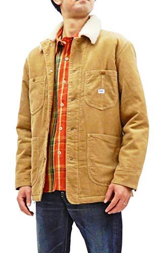 Lee Corduroy Sherpa Jacket Men's 91J Loco Jacket Style Chore Coat LT0637 Beige Tagged Size Japan XL (US L)