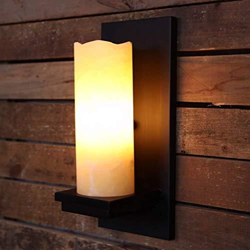 HYY-YY Hotel Cafe Bar Living Room lámpara de Pared, lámparas de decoración de la Pared, lámpara de Pared/Retro Vintage American Village Pared del Dormitorio/Sala de Estar Hotel Iron Escalera Pasil