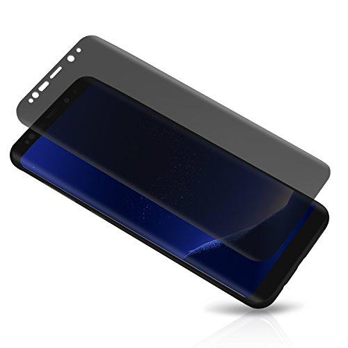Galaxy S8 Plus / S9 Plus Privacy Screen Protector, LETANG Tempered Glass Anti Glare/Spy...