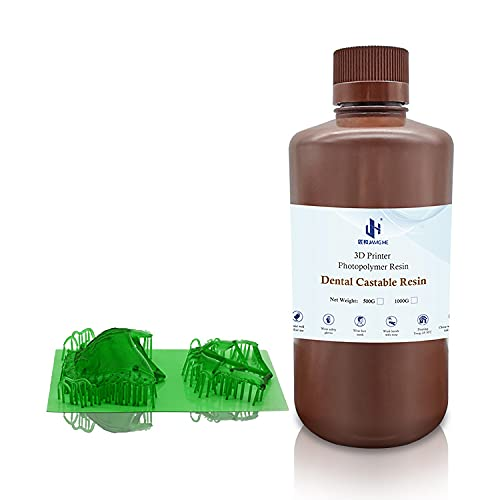 Jamghe Special price for a limited time Dental Castable Resin Easy-to-use UV Ultra 405nm L Photopolymer