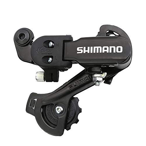 MEGHNA Shimano Rear Derailleur RD-TZ31-A 6/7 Speed Direct Mount for Mountain Bike (Black)