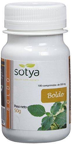 De la marca Sotya Los principios activos del boldo actúan sinérgicamente principalmente en el hígado Acelera el vaciamiento de la vesícula biliar Potente hepatoprotecto Resulta ligeramente laxante
