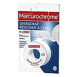 Mercurochrome Sparadrap résistant à l'eau - Le rouleau de 7m X 2,5cm