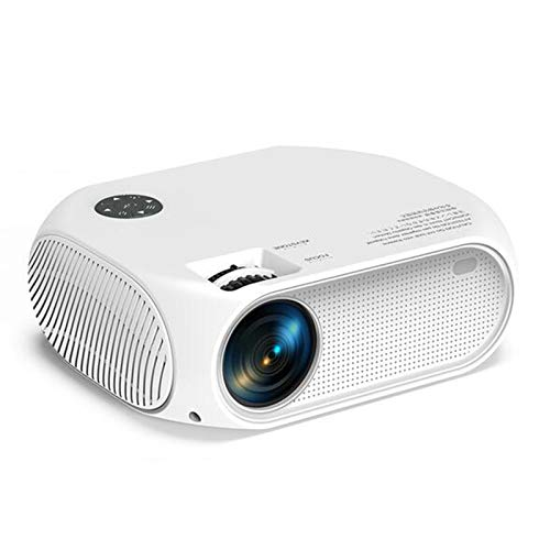 Proyector de Video LED, 3500 Lumens Home Theatre Support Dolby Sound Full HD 1080P Mini Video Película al Aire Libre Portátil Portátil Portátil