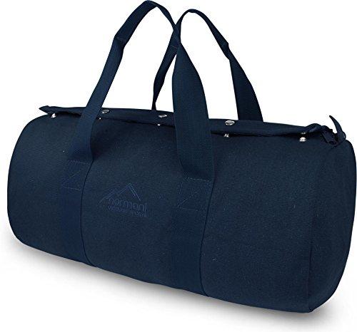 normani Duffle Bag Reisetasche Sporttasche aus Naturfaser 40 Liter Farbe Navy