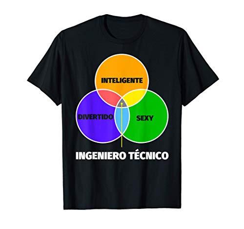 Ingeniero técnico regalo divertente - inteligente sexy diver Camiseta