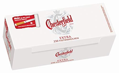 1000 Chesterfield Red Extra® Filterhülsen