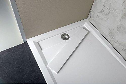 Mg de DW 100 x 80 cm hovaresa ducha bañera: Amazon.es: Bricolaje y herramientas