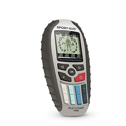 SPORTELEC Elektrostimulationsgerät Multisport Pro Precision, Black, One size