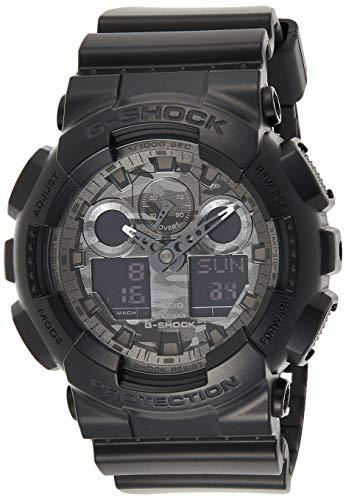 Casio Uomo G SHOCK Analogico-Digitale Sport Di quarzo Reloj (Modelo de Asia) GA-100CF-1A